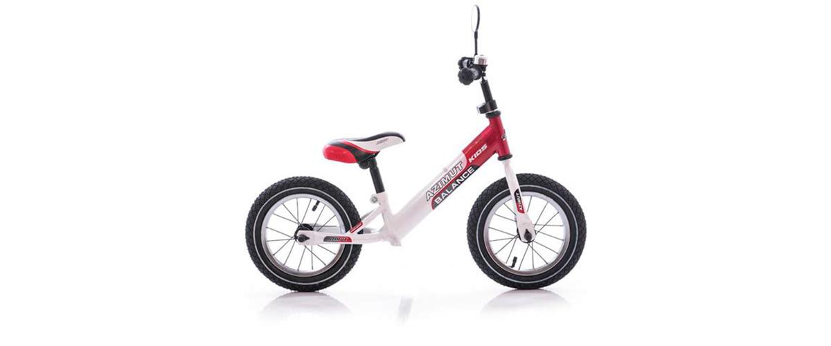 Беговел Azimut Balance Bike Air 12' Красно-белый