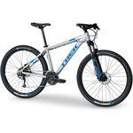 Велосипед TREK MARLIN 7 13.5' 27.5 SL QUICKSILVER (серебристый)