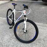 Велосипед BENETTI 29 NOVE DD (бело-синий)